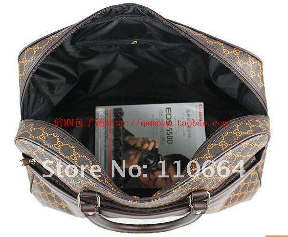Дорожная сумка из полиуретана, модель светлая G, QM8005
