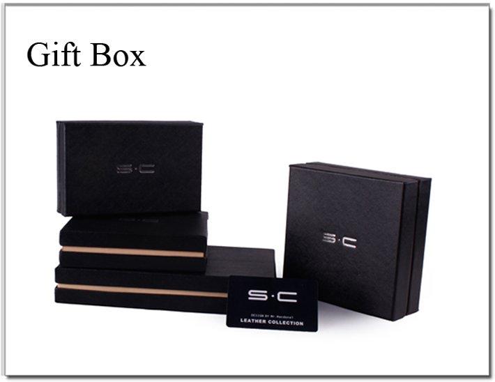 Кожаный мужской кошелёк фирмы S.C. (LY0002-3)