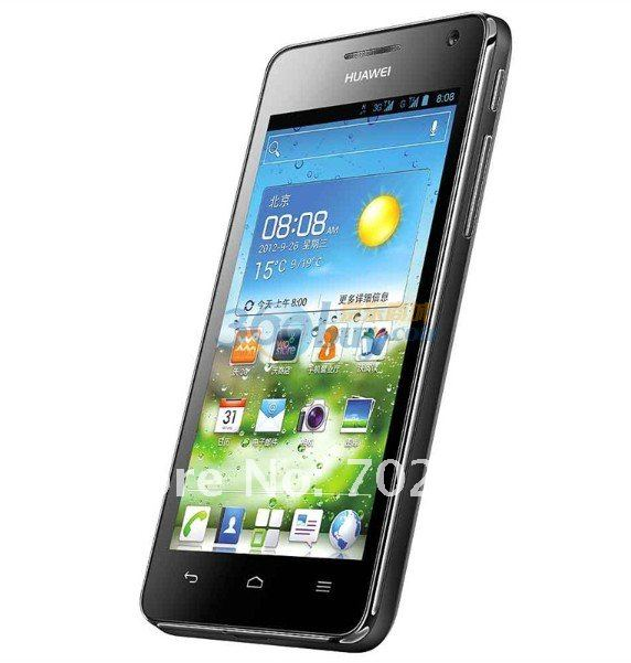 Huawei U8950D Ascend G600 - смартфон, Android 4.0.4, Qualcomm MSM8225 (2x1.2GHz), qHD 4.5
