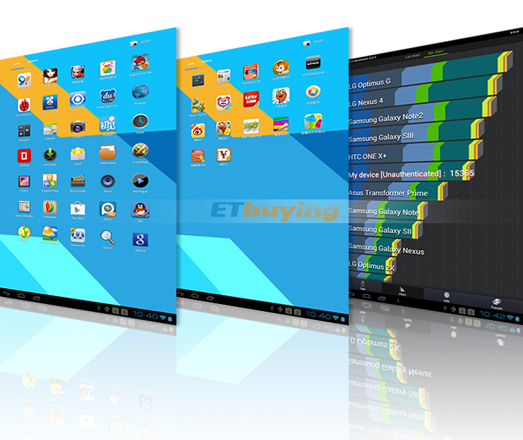 Ramos W42 - планшетный компьютер, Android 4.0.4, HD 9.4