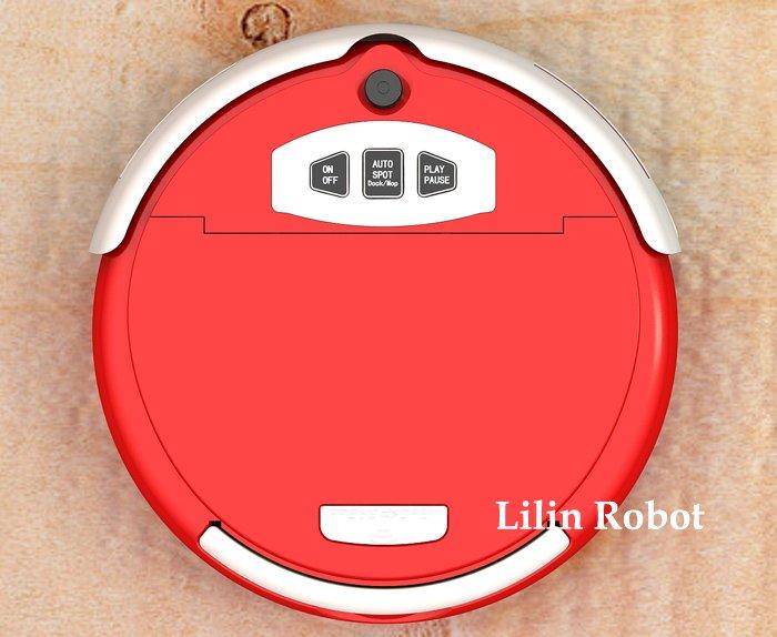 LL-309 - робот-пылесос, чистка и мытье полов, ароматизация, виртуальная стена (красный цвет)