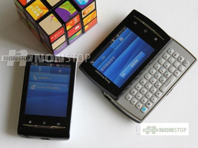 Sony Ericsson Xperia X10 mini pro (оригинальный) - смартфон, Android 1.6, Qualcomm MSM7227 (600MHz), 2.5