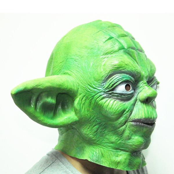 Маскарадная маска из латекса, Мастер Йода (Звездные войны)
