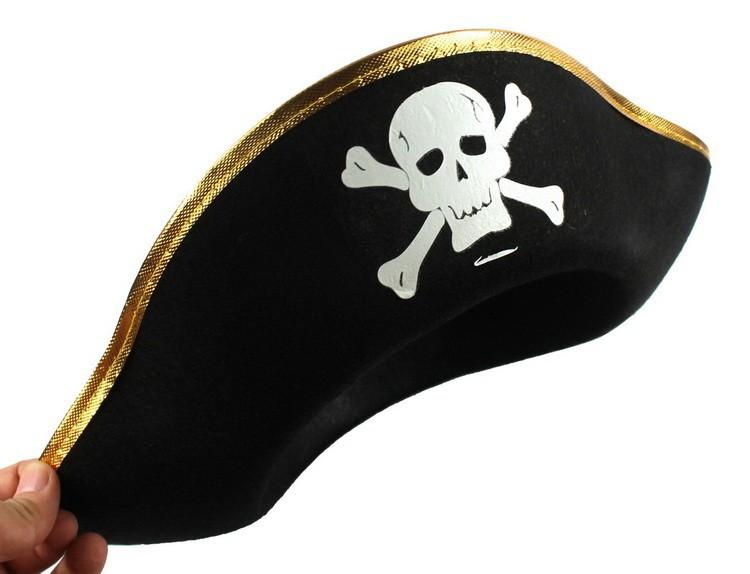 Пиратская шляпа, 10 штук