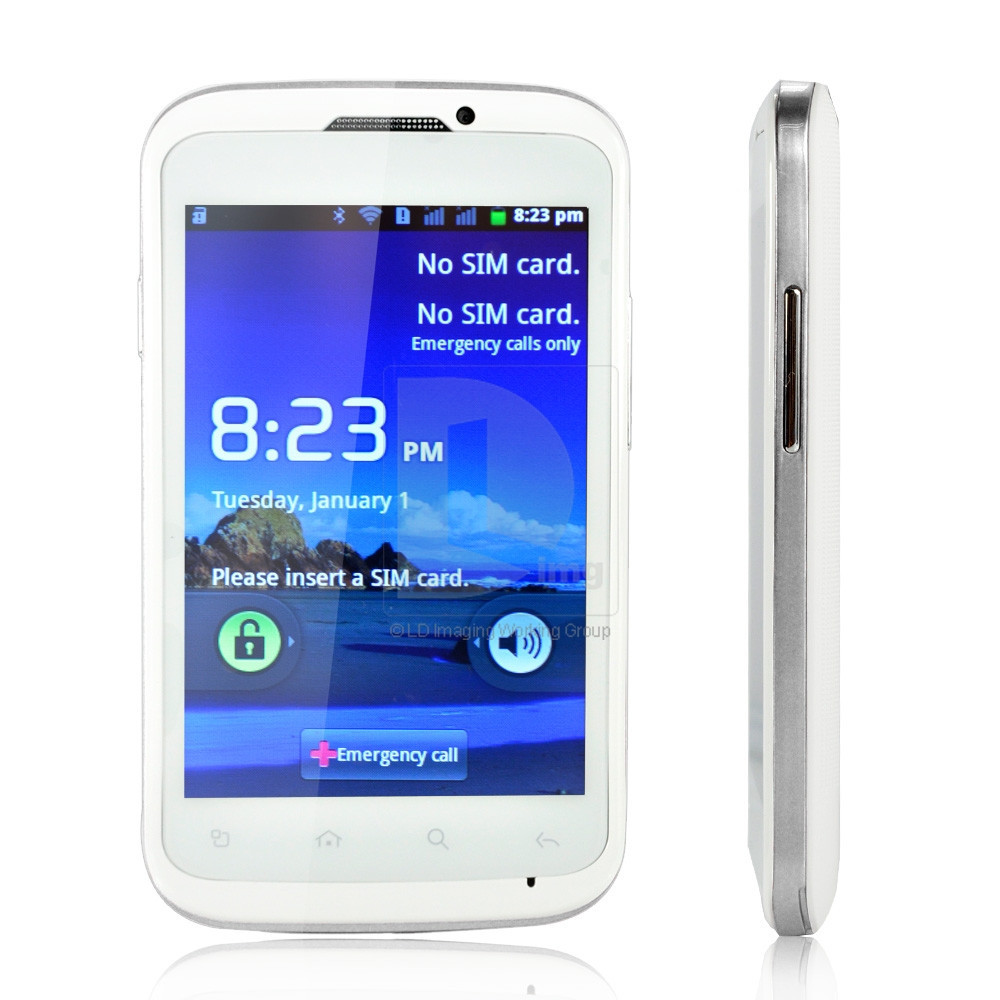 MP-991 - Смартфон, Android 4.0.3, MTK6515 1.0GHz, Dual SIM, 4