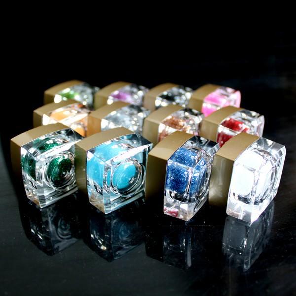 Набор УФ гелей для ногтей, 12 цветов