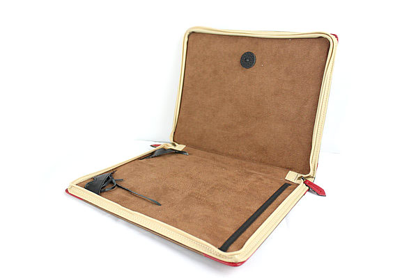 Кожаный чехол book для ipad/ipad 2