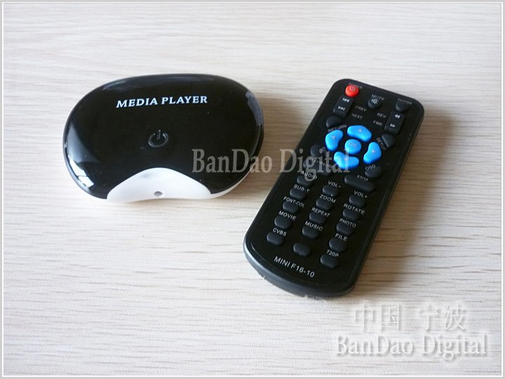 MINI720P - Портативный видеопроигрыватель, AVI, MP3, JPEG, 720P, SD, SATA