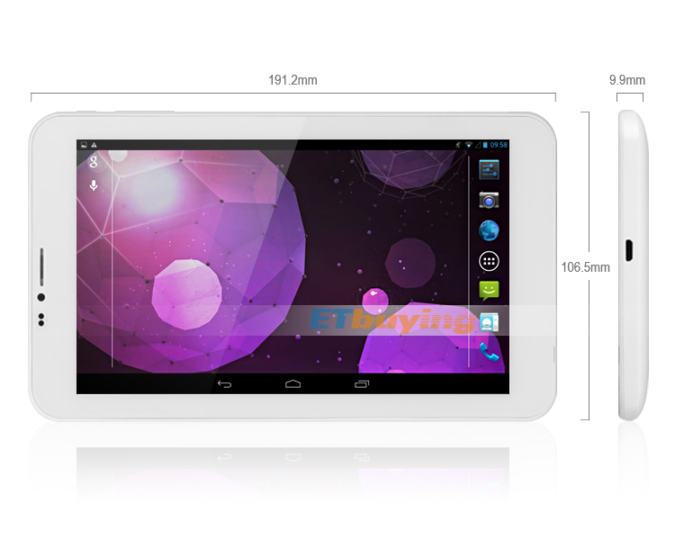 Cube U51GT Talk 7 - Планшетный компьютер, Android 4.2, MTK8312 Dual Core 1.3GHz, 7