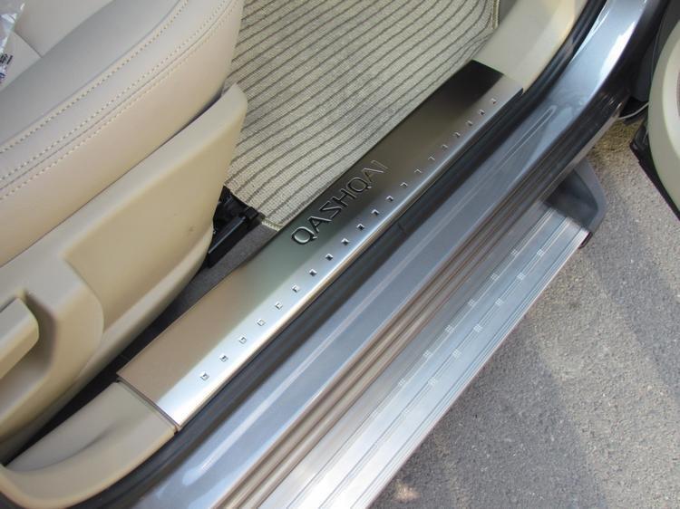 Набор декоративных накладок из нержавеющей стали, 8шт., для Nissan Qashqai 2007-2012