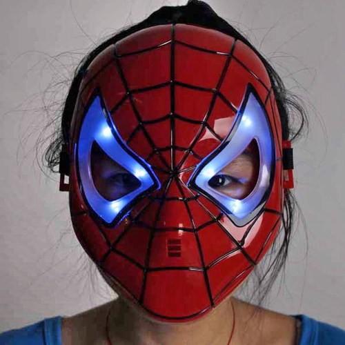 Маска Человек-паук со светодиодами