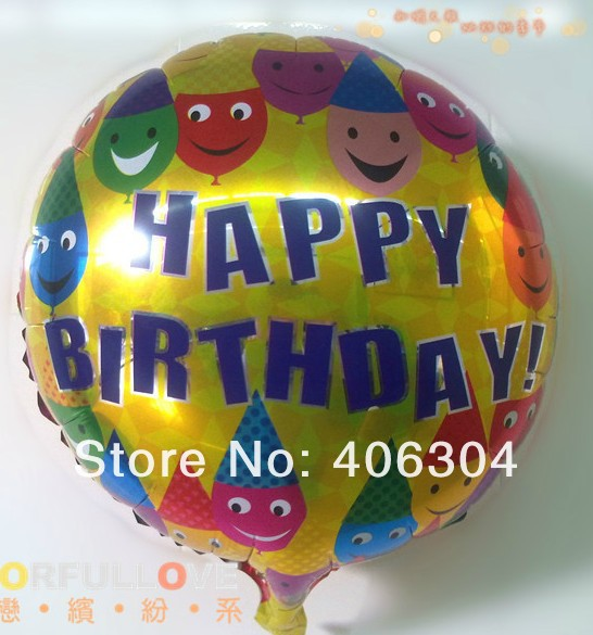 Набор воздушных шаров из фольги (5 шт.)