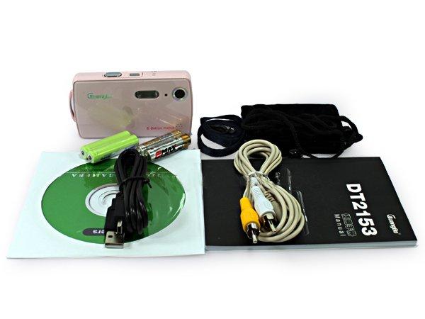 Цифровой фотоаппарат, 5Mpix, SD, TFT