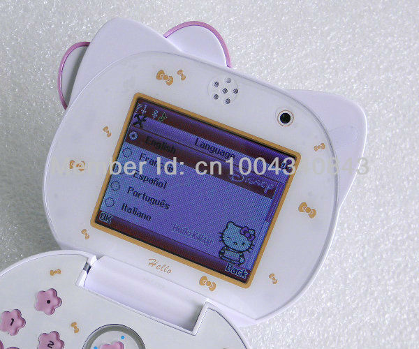 K68 HELLO KITTY - Мобильный телефон, 2.4