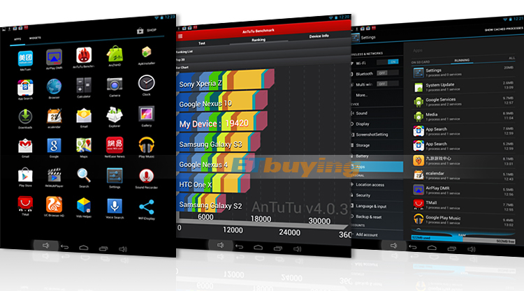 Vido M8 - Планшетный компьютер, Android 4.2, RK3188 1.6GHz, 7.85