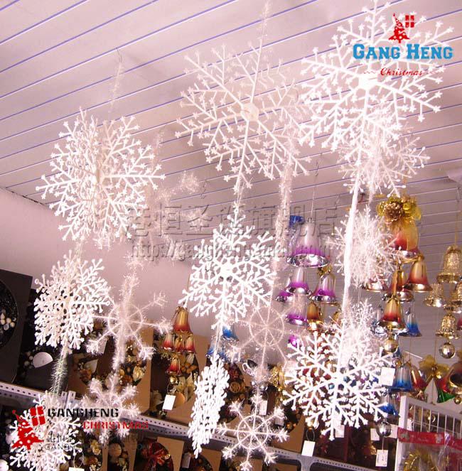 Новогодняя декорация Снежинки