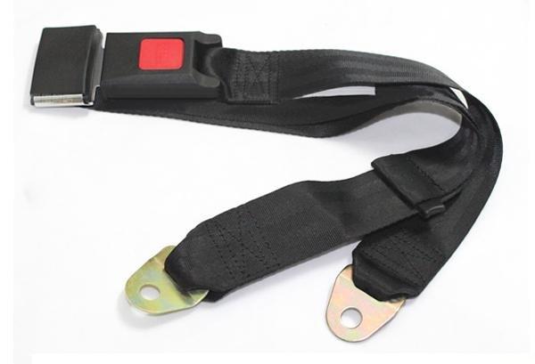 Автомобильный регулируемый ремень безопасности черного цвета, для передних сидений, 1шт
