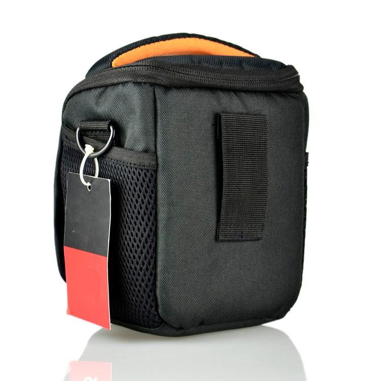 Наплечный кейс-сумка для камер Sony NEX-5R, NEX-7, NEX-6L, NEX-5N, NEX-F3, материал: нейлон