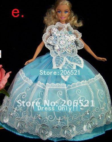 Как сшить барби платье свадебное платье 91