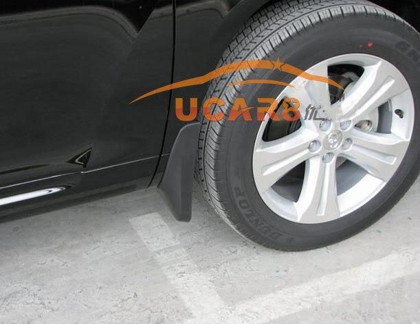 Брызговики для Toyota Highlander 2011 2012