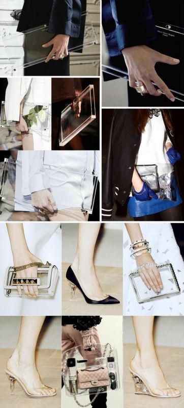 Z104 - прозрачная женская сумка