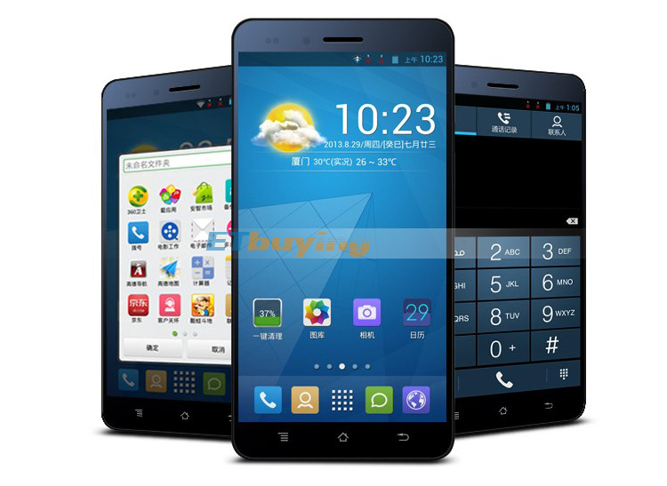 Amoi A920W - Смартфон, Android 4.2, MTK6589T 1.5GHz, Dual SIM, 5