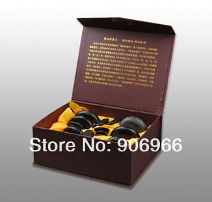 Базальтовые камни для SPA стоун-терапии, 16 штук