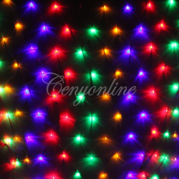 Разноцветная гирлянда, 120 лампочек