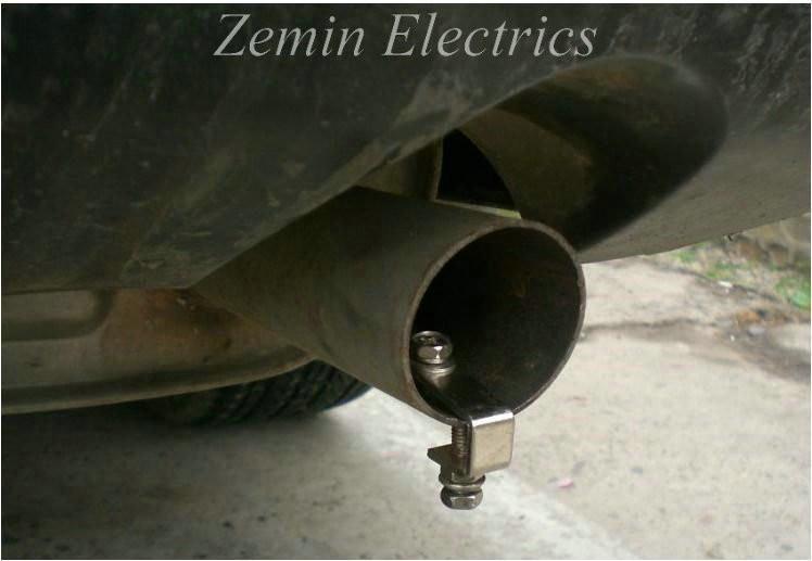 Универсальный автомобильный свисток для глушителя, размер M