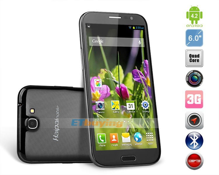Haipai H868 - Смартфон, Android 4.2, MTK6589,Quad Core,1.2GHz, 6