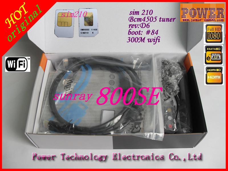 800se - Цифровой ТВ приемник, HD, Wi-Fi, OLED, USB, SATA