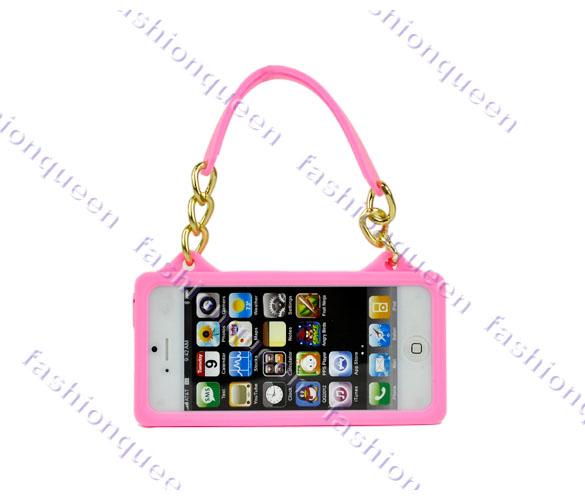 Силиконовый лёгкий защитный чехол для iPhone 5/5s