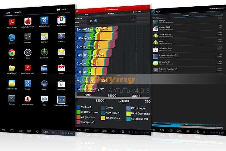 EKEN GC10X - Планшетный компьютер, Android 4.2, Allwinner A20 Dual Core Cortex A7 1GHz, 10.1
