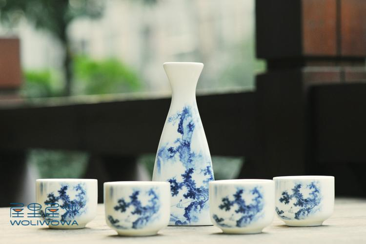 Винный набор в японском стиле