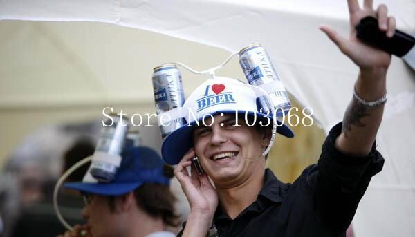 Шляпа с фиксирующими зажимами для емкостей с напитками, несколько цветов