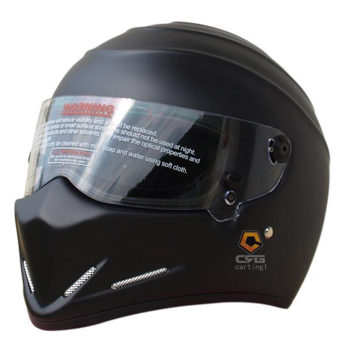 Мотоциклетный защитный шлем из углеродистого волокна, Ярко-белый / Глянцевый / Черный / Матовый / Красный / Зеленый