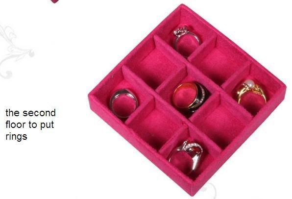 SB010 - Шкатулка для хранения драгоценностей, с зеркалом
