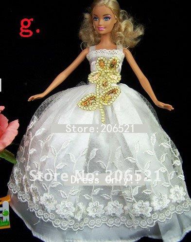 Как сшить барби платье свадебное платье 92