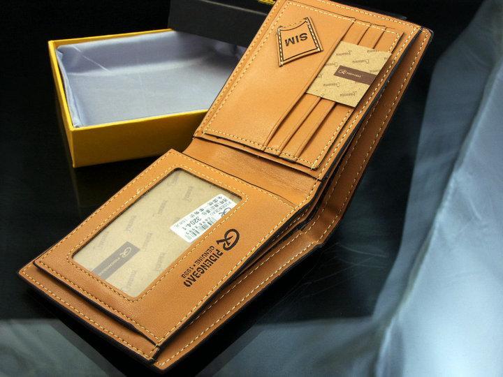 Кожаный бумажник для мужчин