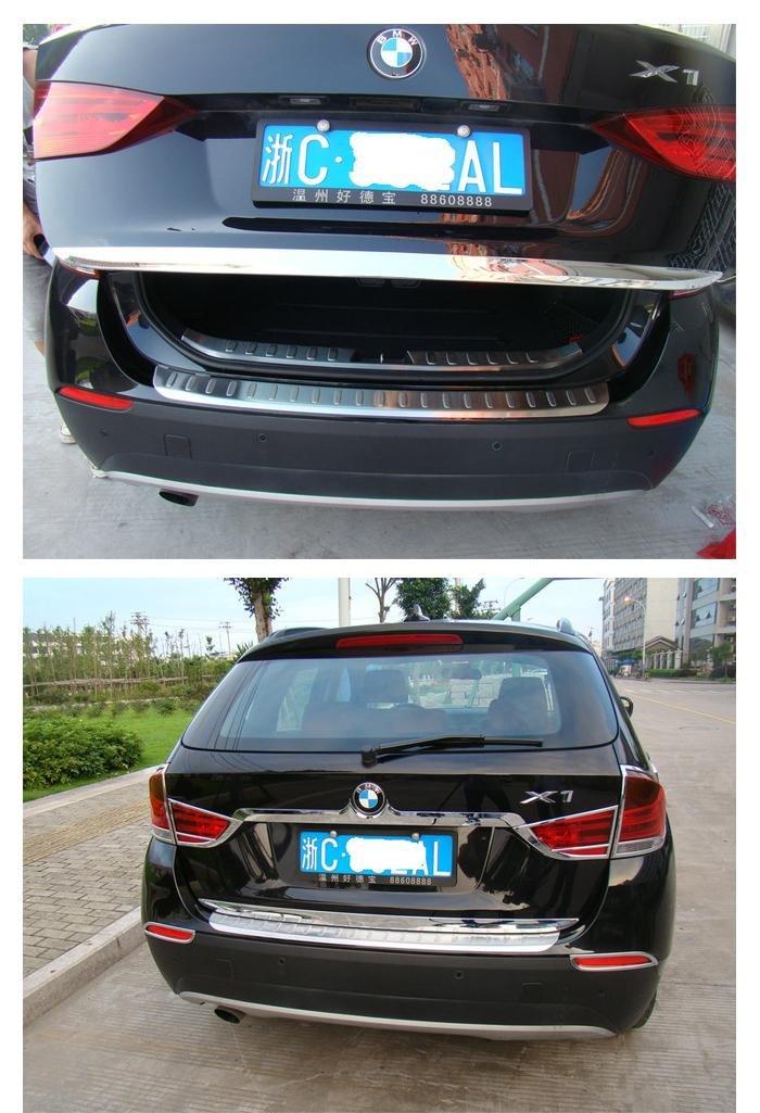 Хромированная накладка для двери багажника BMW x1, 2010-2012