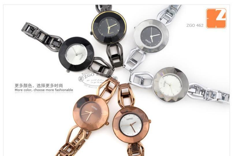 Женские кварцевые часы, металлический браслет