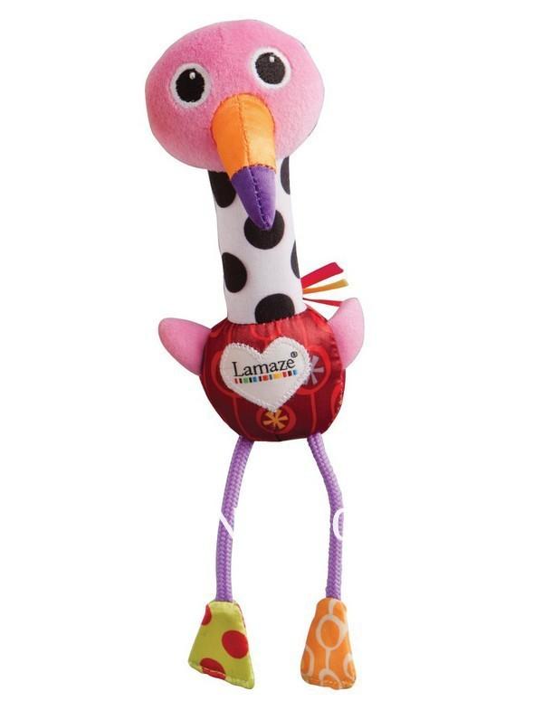 Игрушки страус и фламинго