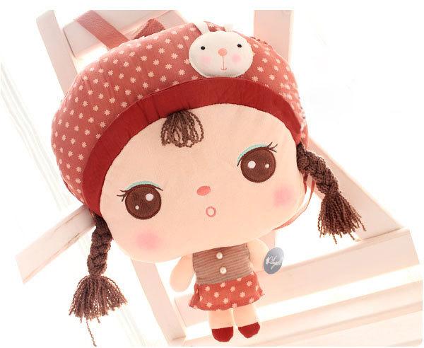 Детский рюкзак-кукла