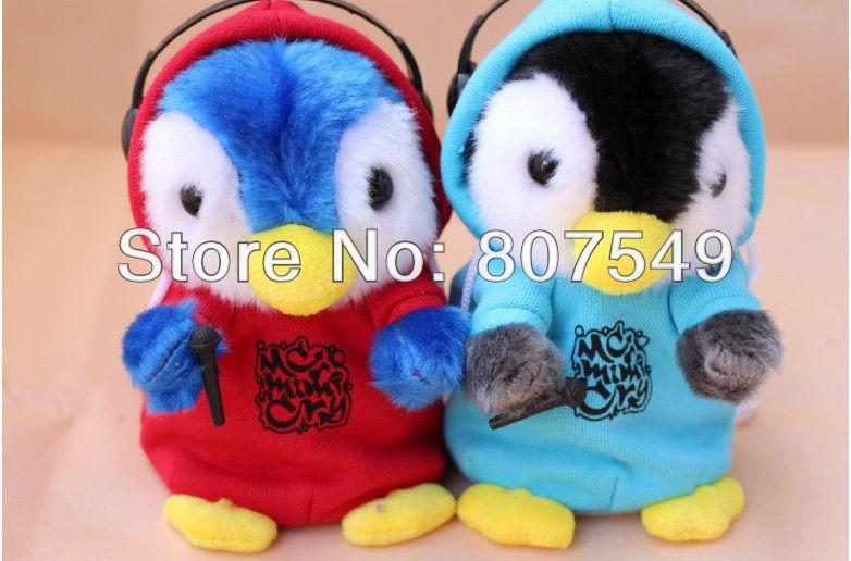 Плюшевая игрушка говорящий пингвин