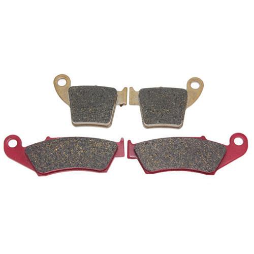 Передние и задние тормозные колодки для мототехники HONDA CR, 125R, 250 R, 2002-2007, CRF, 250R/X, 450R/X, 2002-2009