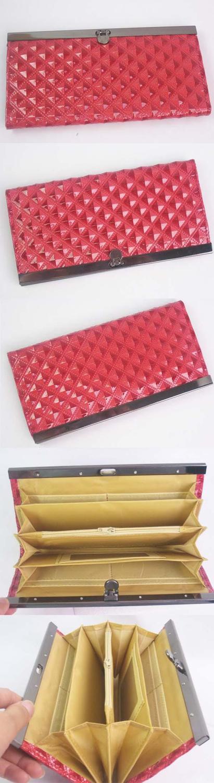 Женский кошелёк с зажимом