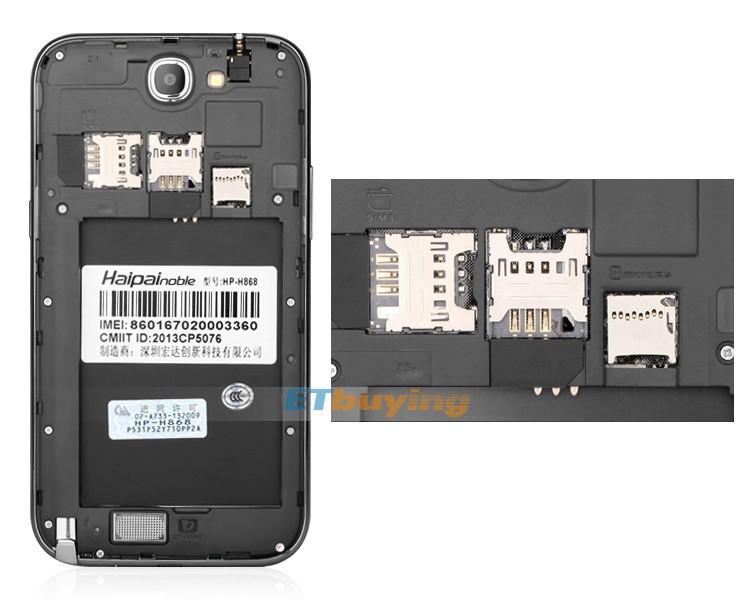 Haipai H868 - Смартфон, Android 4.2, MTK6589,Quad Core,1.2GHz, 6