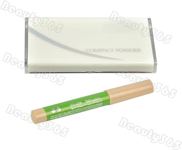 Универсальный набор косметики для лица, пудра, карандаш для глаз