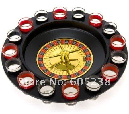 Рулетка игровая, 16шт стопок в комплекте
