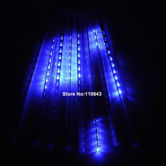Синий метеорный дождь, 30 см
